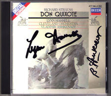 Lynn HARRELL, Vladimir ASHKENAZY Signed STRAUSS Don Quixote Dance of Seven Veils