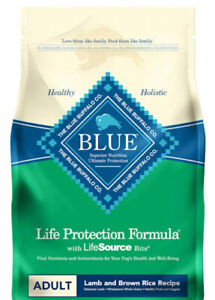Blue Buffalo Life Protection Formula Adult Dry Dog Food Lamb & Brown Rice 6-lb