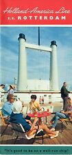 1962 ROTTERDAM Interiors Brochure w/ Color Photos - SSHSA sHiPs WORLDWIDE