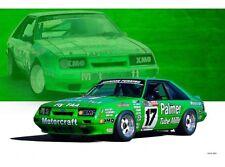 NEW GP A Dick Johnson Mustang tin metal sign