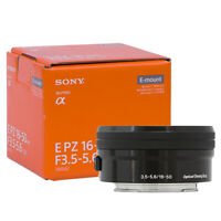 Sony 16-50mm f/3.5-5.6 OSS Alpha E-mount Retractable Zoom Lens Black