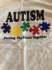 Autism T Shirt Large