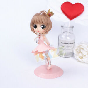 Card Captor Sakura Kinomoto Sakura PVC Figure Model Cake Decor New