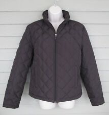 Kenneth Cole Reaction Womens Brown Down Filled Warm Winter Parka Jacket Coat  M