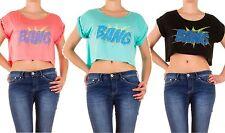 Locker sitzende Kurzarm Damenblusen, - tops & -shirts keine Mehrstückpackung