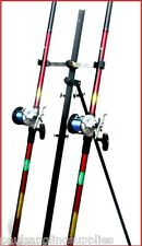 2 x 15 ft Mitchell Rods & Multiplier Reels & Tripod Beachcaster Sea Fishing
