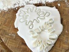 Paint Splat Cookie Cutter / Fondant / Icing