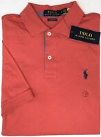 Polo Ralph Lauren Red Short Sleeve Shirt Mens Classic Fit NWT Cotton NEW $79
