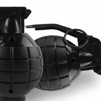 Durable Toy Grenade Toy Ammo Game Bomb Launcher Blast Replica Military wb