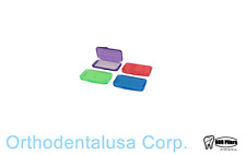 144 Orthodontic MINI WAX MINT ASSORTED COLORS Orthodentalusa Corp. MADE IN USA