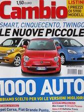 CAMBIO n°11 2006 BMW X3 Citroen Picasso Volvo C30 Mini Cooper S  [P44]