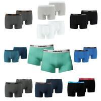 2 4 6 8 10 12 er Pack HEAD Boxer enganliegende Pants Trunk NEU Farbwahl S M L XL