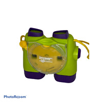 💕 View Master Binoculars 3-D Viewer Discovery Kids Green Purple 1998 EUC C0