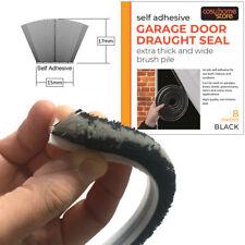 Garage Door Brush Pile SelfAdhesive Draught Excluder Draft Seal 17mm x 15mm x 8m