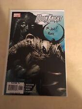 Moon knight 1 signed by finch