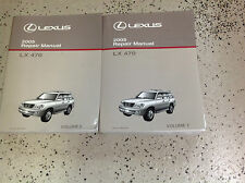 2005 LEXUS LX470 LX 470 Service Shop Repair Workshop Manual SET FACTORY OEM