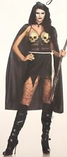 Leg Avenue Death Dealer Small Sexy Halloween Costume Cosplay 85444 Dress Cape
