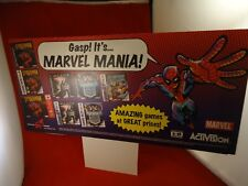 Marvel Mania N64 PS1 Game Boy Color Promo Store Display Spider-Man X-Men Blade