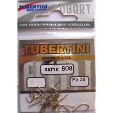 Tubertini 801 Nickel Fishing Hooks All Sizes Coarse Match Fishing