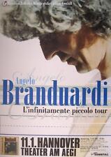 """Angelo BRANDUARDI TOUR POSTER/MANIFESTO CONCERTO """"l 'Infinitamente piccolo Tour"""""""