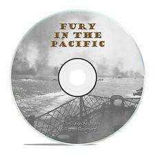 FURY IN THE PACIFIC - PELELIU - ANGAUR WWII BATTLES 1945 DVD -J62