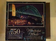 """750 pc jigsaw PUZZLE Wonderful World """"SYDNEY HARBOUR BRIDGE"""" Australia  unisex"""