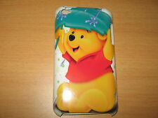 Winnie The Pooh Hard Cover Case for iPod Touch 4th Gen New Under Leaf in Rain