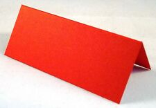 100 Red Wedding Table Place Cards, Perfect For All Parties & Events