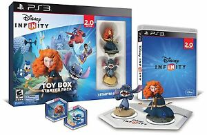 NIB Disney Infinity Toy Box Starter Pack PS3 Edition - Ships Same Day