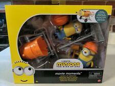 Minions THE RISE OF GRU Movie Moments MIXED-UP MINIONS Playset Action Figures