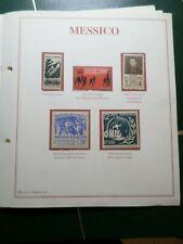 MEXIQUE, MESSICO, LOT timbres oblitérés et/ou neufs, VF STAMPS