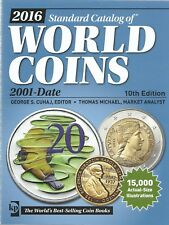 Krause world coins wereldcatalogus munten 2001-heden 10de editie 2016 nieuw