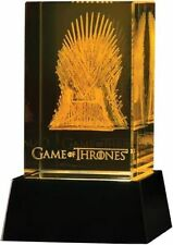 Game of Thrones 3d Crystal Iron Throne