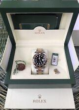 Rolex GMT Master II Bi/Colour 116713LN Black Cramic- Box And Papers 2013