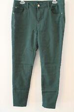 KENSIE JEANS brand dark green denim skinny jeans size 12