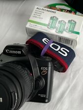 Canon EOS-3000-88-rebel XS 35mm SLR Film Camera Body and Lens Kit with FREE FILM