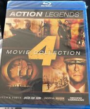 Action Legends 4 Movie Collection New Blu-Ray Steven Seagal Jean-Claude VanDamme