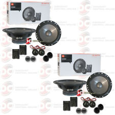 4 x JBL CS760C 6.5 INCH CAR AUDIO CS7 SERIES 2-WAY COMPONENT SPEAKER SYSTEM