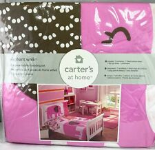 Carter's At Home Elephant Walk 4-Piece Toddler Twin Bedding Set New in Bag