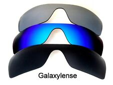 Galaxy Replacement Lenses for Oakley Batwolf Black&Blue&Titanium Polarized 3PAIR