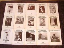 European Photography magazine x27 issues 1980-1992 german & english
