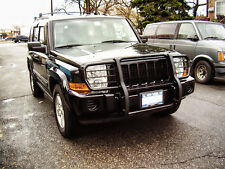 Fits 2006-2013 Jeep Commander Brush Grille Guard Push Bar Black Powder Coated