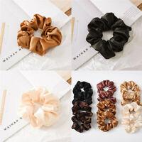 Hair Holder Ponytail Rope Women Scrunchies Silk Tie Rings New Elastic Satin