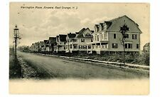East Orange NJ -WARRINGTON PLACE IN AMPERE SECTION - Postcard