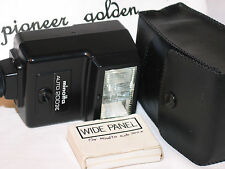 MINOLTA AUTO 200X FLASH for minolta X370,X570,X500,XD,XE, XG7,XGM,XG series,
