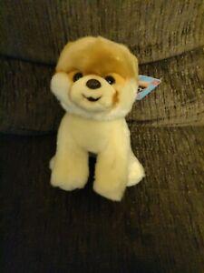 "Gund Pomeranian Dog BOO THE WORLD'S CUTEST DOG Stuffed Animal Plush 9"" NWT!!!"