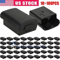 10~100pcs AA Battery Back Cover Case Shell Pack For Xbox 360 Wireless Controller