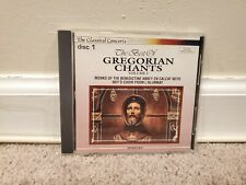 The Best of Gregorian Chants Vol 1 (CD, Disc 1 Only, Madacy Records)