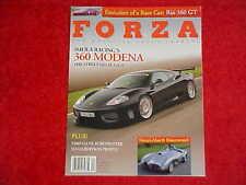 Forza # 52 Magazine F1 APR 2004 Formula One Ferrari 360 Imola GO US SKI TEAM USA