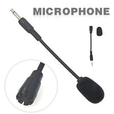 Flexible 3.5mm Jack Plug Mini Microphone Mic Stereo Adjustable Goose Neck 15cm